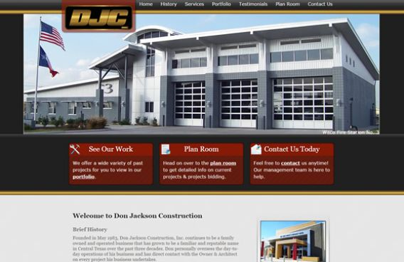 Website - Don Jackson Construction