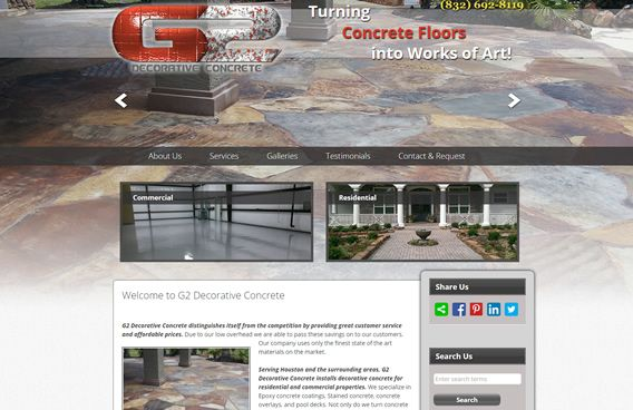 Website - G2 Decorative Concrete