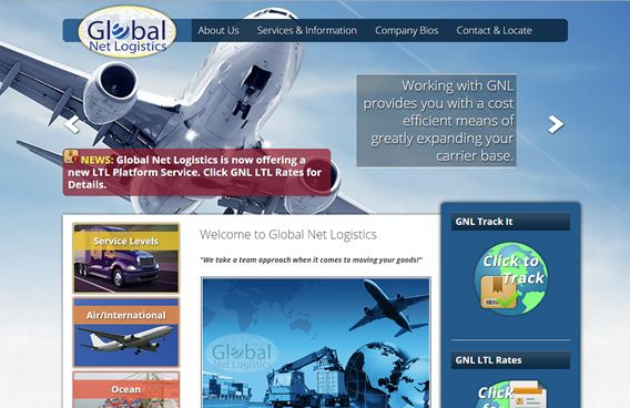 Website - Global Net Logistics