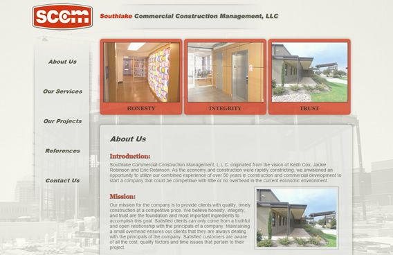 Website - Southlake Commercial Construction Management