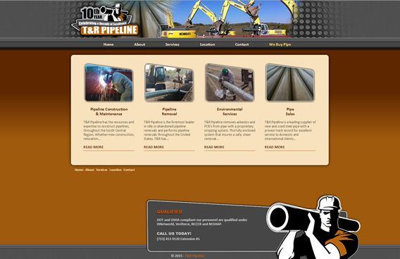 Website - T&R Pipeline