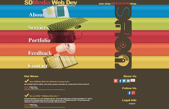 Website - SDMedia Web Dev V.5